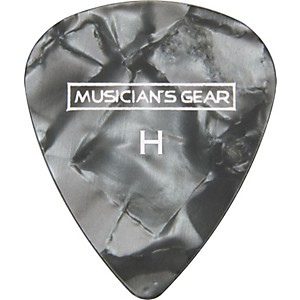 Musician-s-Gear-Premium-Pearloid-Celluloid-Pick---12-Pack-Black-Heavy