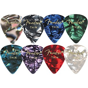 Fender-351-Premium-Celluloid-Guitar-Picks-Abalone-Heavy