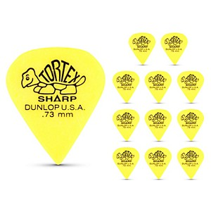 Dunlop-Tortex-Sharp-Guitar-Picks-1-Dozen--73Mm