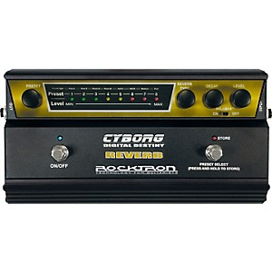 Rocktron-Cyborg-Digital-Reverb-Guitar-Effects-Pedal-Standard