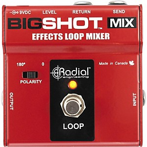 Radial-Engineering-BigShot-MIX-Effects-Loop-Mixer-Standard