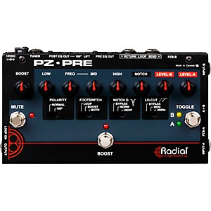 Radial-Engineering-Tonebone-PZ-Pre-Acoustic-Direct-Box-Preamp-Standard