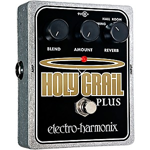Electro-Harmonix-XO-Holy-Grail-Plus-Variable-Reverb-Guitar-Effects-Pedal-Standard