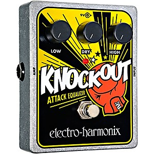 Electro-Harmonix-XO-Knockout-Attack-Equalizer-Guitar-Effects-Pedal-Standard