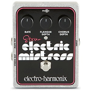 Electro-Harmonix-XO-Stereo-Electric-Mistress-Flanger---Chorus-Guitar-Effects-Pedal-Standard