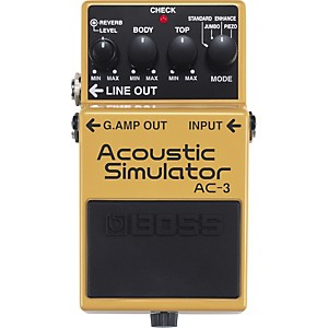 Boss-AC-3-Acoustic-Simulator-Standard