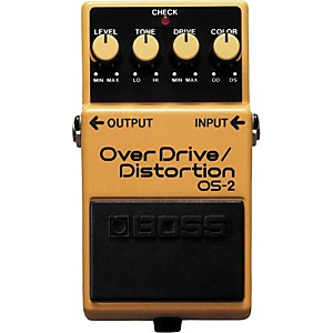 Boss-OS-2-Overdrive-Distortion-Guitar-Effects-Pedal-Standard