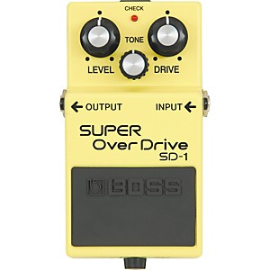 Boss-SUPER-OverDrive-SD-1-Pedal-Standard