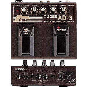 Boss-AD-3-Acoustic-Guitar-Multi-Effects-Pedal-Standard