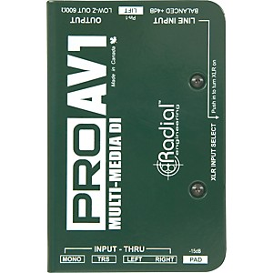 Radial-Engineering-ProAV1-Single-Channel-Direct-Box-Standard