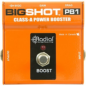 Radial-Engineering-BigShot-PB1-Class-A-Power-Booster-Standard