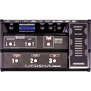 Rocktron-Utopia-B200-Bass-Floor-Multi-Effects-Pedal-Black