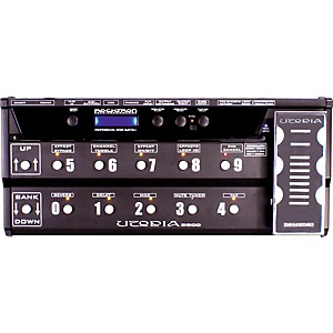 Rocktron-Utopia-B-300-Bass-Floor-Multi-Effects-Pedal-Black
