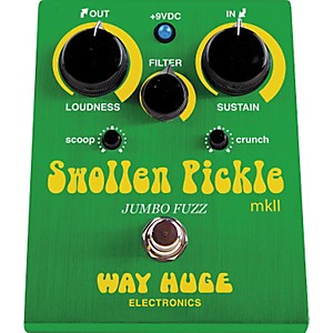 Way-Huge-Electronics-WHE401-Swollen-Pickle-mkII-Jumbo-Fuzz-Guitar-Effects-Pedal-Standard
