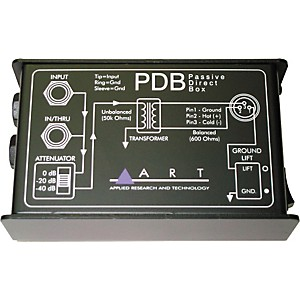 ART-PDB-Passive-Direct-Box-Standard