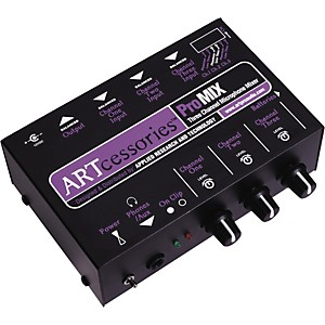 ART-ProMIX-3-Channel-Microphone-Mixer-Standard