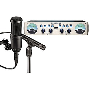 Presonus-Blue-Tube-DP---AT2041SP-Dual-Mic---Preamp-Package-Standard