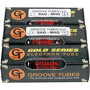 GROOVE-TUBES-SAG-MHG-Marshall-High-Gain-Preamp-Tube-Changing-Kit-Standard