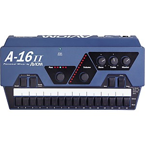 Aviom-A-16II-Personal-Mixer-Aviom-Blue
