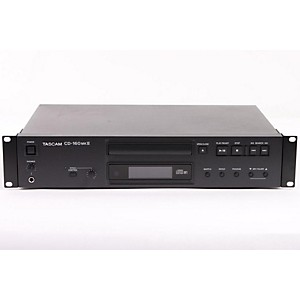 TASCAM-CD-160mkII--Professional-Single-CD-Player-with-MP3-Playback-and-Digital-Outputs-886830382314