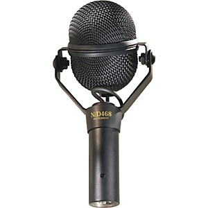 Electro-Voice-N-D468-Dynamic-Supercardioid-Instrument-Microphone-Standard