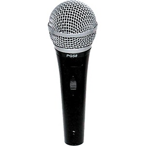 Shure-PG58-LC-Cardioid-Dynamic-Handheld-Microphone-Standard
