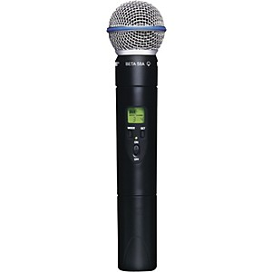 Shure-SLX2-Beta58-Wireless-Handheld-Transmitter-Microphone-CH-G5