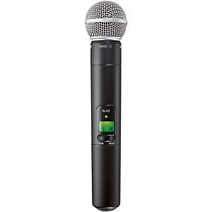 Shure-SLX2-SM58-Wireless-Handheld-Microphone-CH-G4