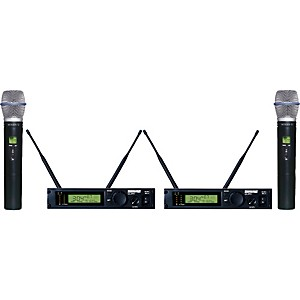 Shure-ULXP24D-BETA87A-Dual-Handheld-Wireless-Microphone-System-M1