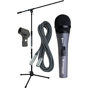 Sennheiser-E822-MIC-WITH-STAND--CABLE---CLIP-Standard