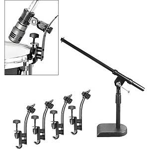 Musician-s-Gear-Drum-Microphone-Mount-Kit-5---Pack