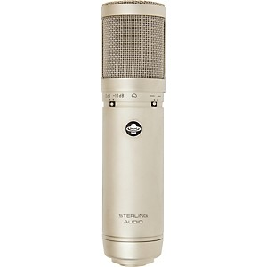 Sterling-Audio-ST66-Large-Diaphragm-Tube-Condenser-Microphone-Standard