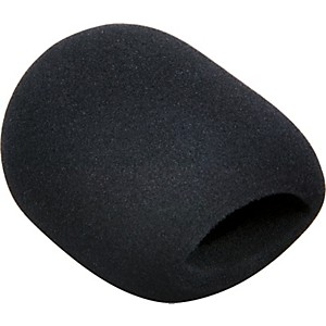 Tour-Grade-Black-Ball-End-Microphone-Wind-Screen-Black
