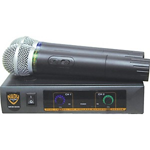 Nady-DKW-DUO-Dual-Channel-VHF-Handheld-Microphone-System-Channel-B-D