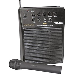 Nady-WA-120-Portable-PA-System-with-Wireless-Handheld-Mic-Channel-A