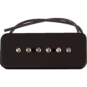 Seymour-Duncan-SP90-2-Hot-Soapbar-Pickup-Black-Bridge