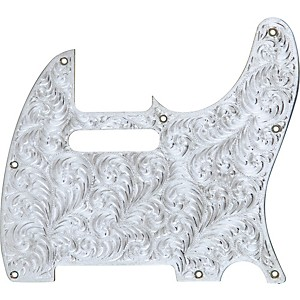 El-Dorado-Hand-Engraved-Metal-Tele-Electric-Guitar-Pickguard-Standard