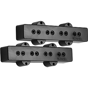 DiMarzio-DP123-Model-J-Bass-Pickup-Set-Black