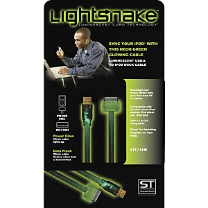LightSnake-Illuminated-iPod-Dock-Cable-Black