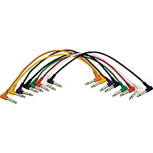 Musician-s-Gear-1-4---1-4-Patch-Cable-8-Pack--17---Angled