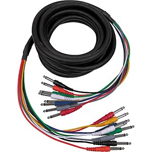 Hosa-1-4--1-4--8-Channel-Recording-Snake-16-5-Foot