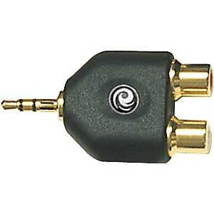 Planet-Waves-1-8--Stereo-Male-to-Twin-RCA-Female-Adapter-Standard