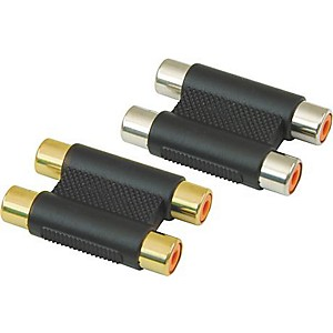 American-Recorder-Technologies-Dual-RCA-Female-to-RCA-Female-Adapter-Gold