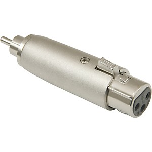 American-Recorder-Technologies-XLR-Female-to-RCA-Male-Adapter-Nickel