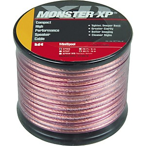 Monster-Cable-Monster-XP-Clear-Jacket-Compact-Speaker-Cable-MKII-Mini-Spool-30-Feet