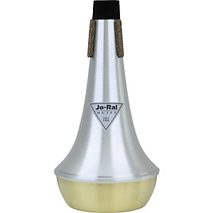 Jo-Ral-TRB-4B-Brass-Bottom-Bass-Trombone-Straight-Mute-Standard
