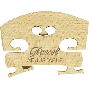 Glaesel-Self-Adjusting-3-4-Violin-Bridge-High