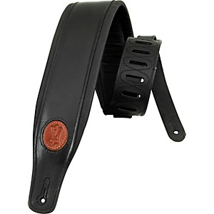 Levy-s-Boot-Leather-Guitar-Strap-Black