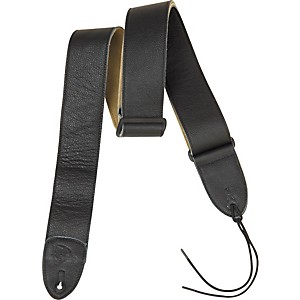 Rock-Steady-RSL01-Leather-Guitar-Strap-Black