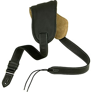 Levy-s-Ergonomic-Bass-Guitar-Strap-With-Contoured-Moveable-Pad-Black